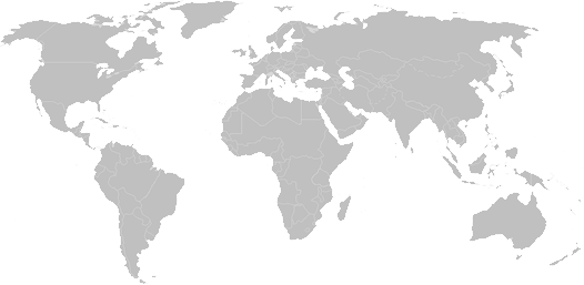 Map of continents